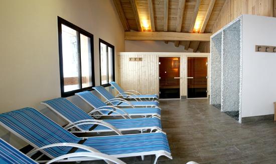 Almes1 : Les résidence Almes 1 à Tignes le Lac : L'espace détente