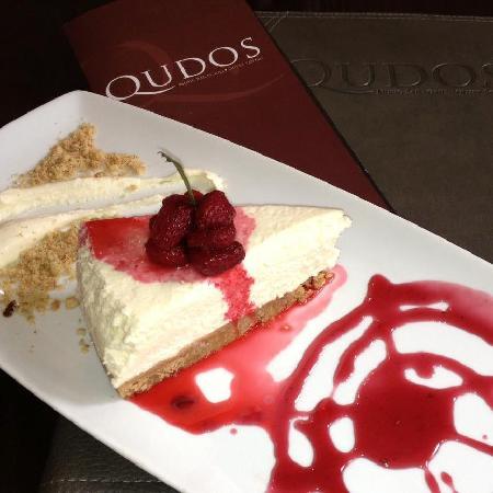 Qudos: Perhaps some winter berry cheesecake?