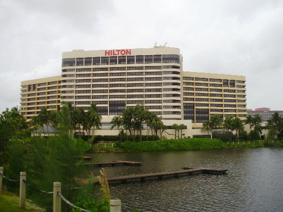 Hilton Miami Airport Blue Lagoon Área Circundante Do Hotel