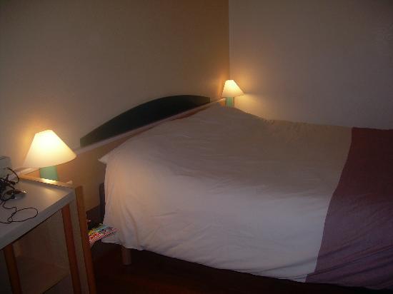 "Ibis Brussels Centre Sainte Catherine: la cama ""de heidi"""