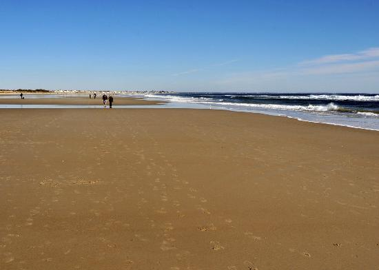 Ogunquit Beach at low tide