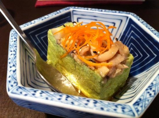 Can Kenji: tofu de guisantes
