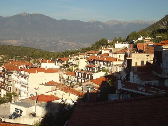 Hotel Tholos: Partial View Of The Town Of Delphi
