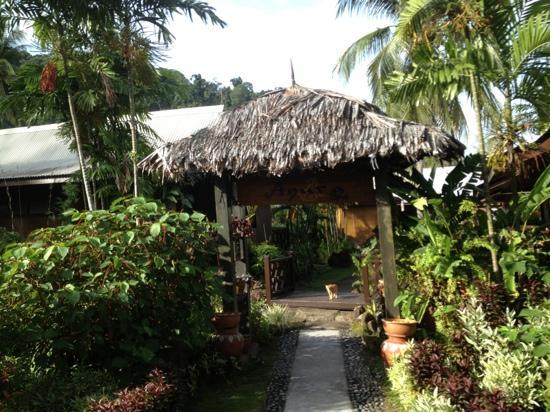 Berjaya Tioman Resort - Malaysia: Spa entrance