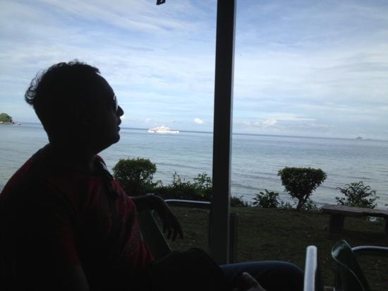 Berjaya Tioman Resort - Malaysia: Buggy ride to the ferry terminal