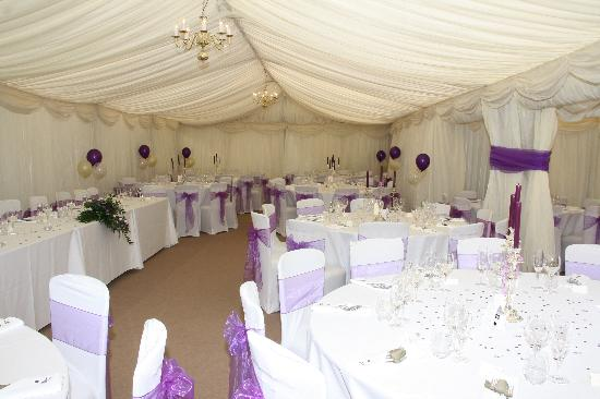 The Ormond at Tetbury: inside the marquee