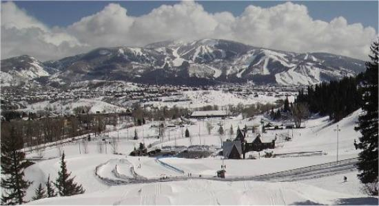 Howelsen Hill Ski Area: View from Howelsen Hill