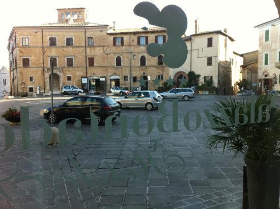 Palazzo Bontadosi Hotel & Spa : Dalla sala colazione....