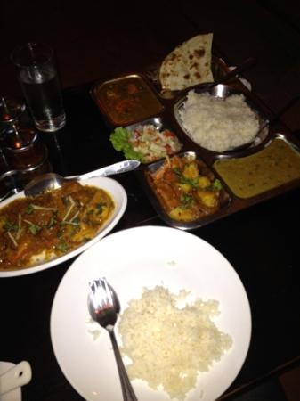 Chusska, Indian Vegetarian Restaurant: Fighting irons at the ready
