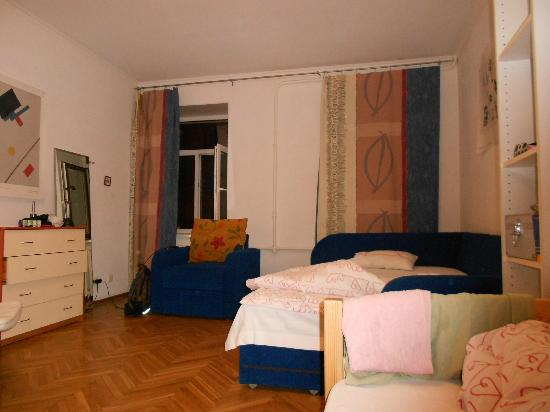 Petersburg Minihotels: Zimmer
