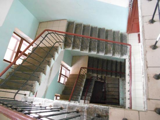 Petersburg Minihotels : Treppenhaus