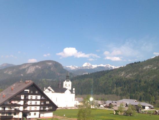 Bohinj ECO Hotel: Panorama della Alpi