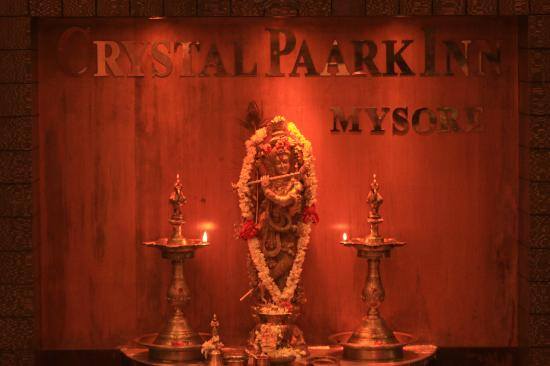 Hotel Crystal Paark Inn: at reception lobby