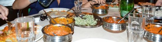 Star of India: Variety of Dishes