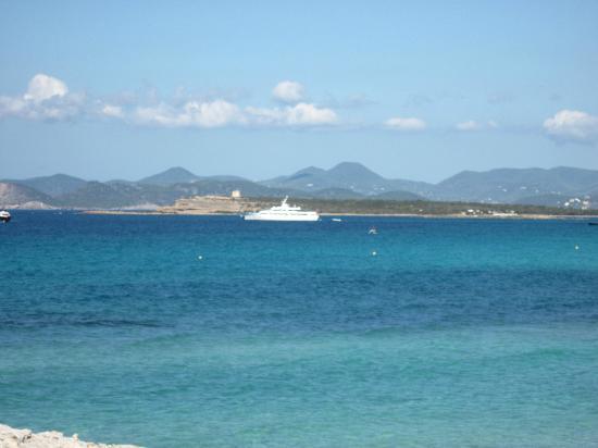 Playa de Ses Illetes: Schöne Aussicht