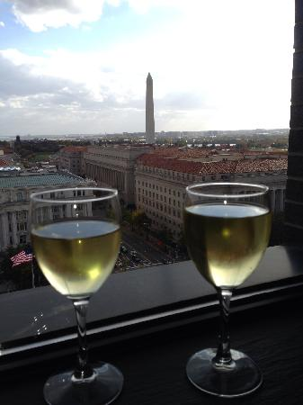 JW Marriott Washington, DC: Spectacular View from room 1547