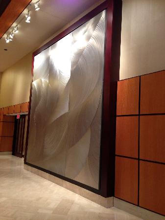 JW Marriott Washington, DC: Artwork in lobby