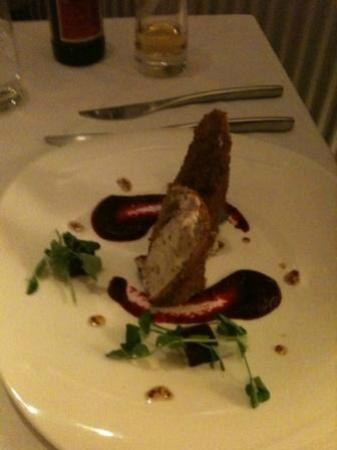 39 Steps Restaurant: Goats Cheese Croquette