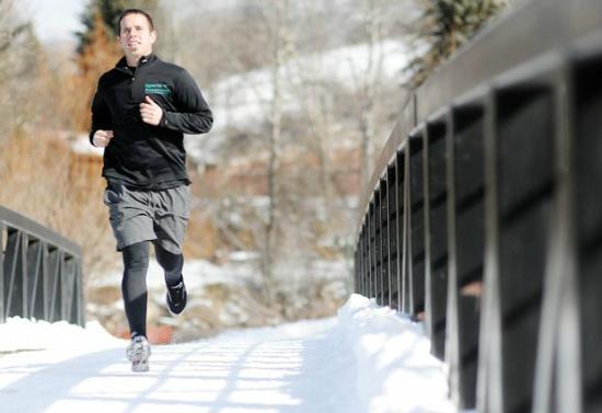 Image result for jogging in winter