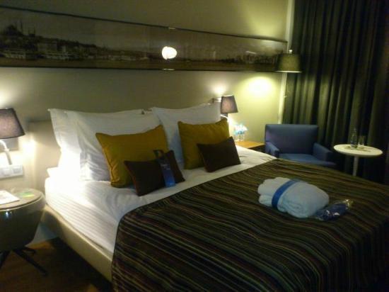 Radisson Blu Hotel Istanbul Asia: Great sleep quality