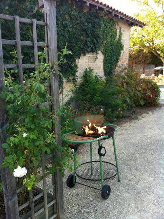 La Closerie de la Beyne: zelf barbecuen bij het huisje