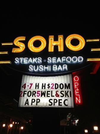 Soho Cafe & Bar: SOHO