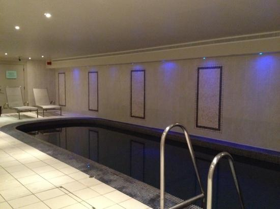 Rhinefield House Hotel: small but functional spa