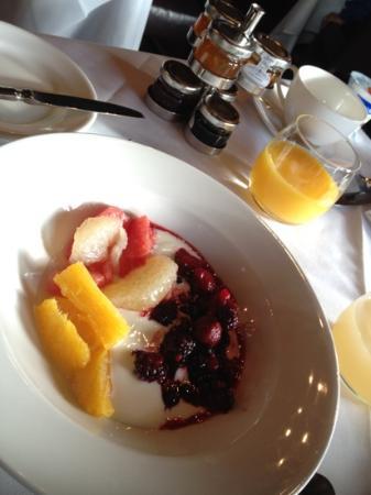 Rhinefield House: healthier version of breakfast