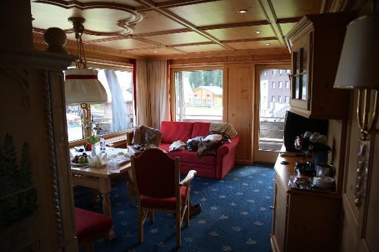 Burg Hotel : Innenansicht Zimmer/Suite