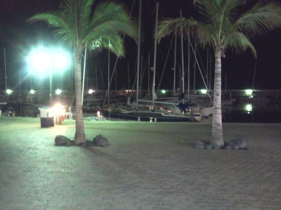 Fazz's Puerto Calero : View from our table