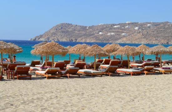 Arte & Mare Elia Mykonos Suites: Elia Beach