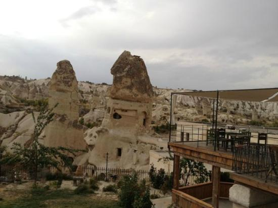Goreme Suites: View from the terrace