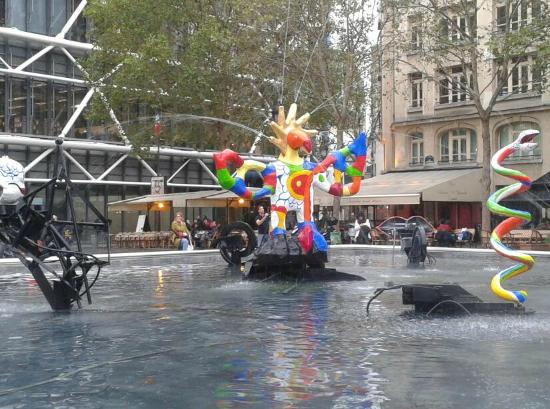 Stravinsky Fountain Picture Of Centre Pompidou Paris