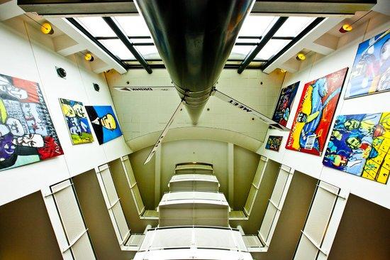 WestCord Art Hotel Amsterdam: Lobby WestCord Art Hotel
