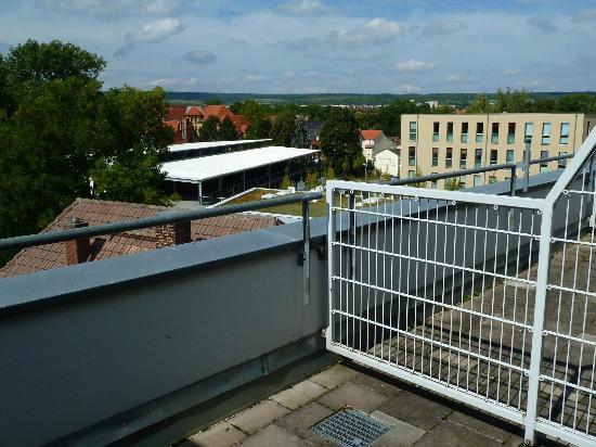 Best Western Premier Grand Hotel Russischer Hof : Balkon