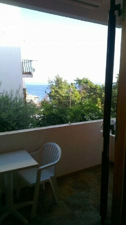 Residence-Hotel Baia Portinenti : View from balcony