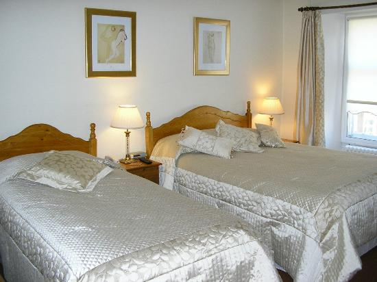 Robertson Arms Hotel: Twin Room