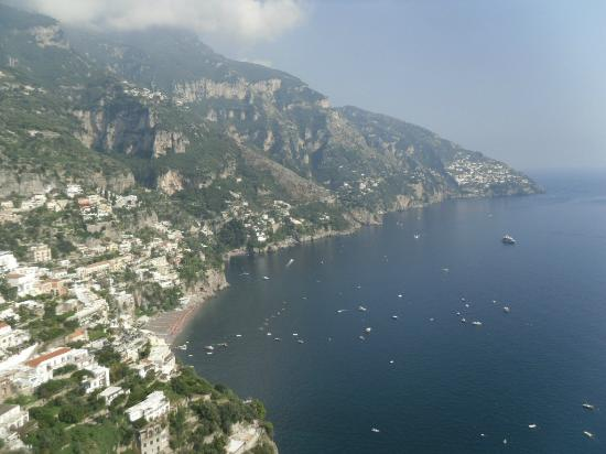 Tour of Italy: Positano from an overlook