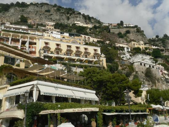 Tour of Italy: Positano from the beach