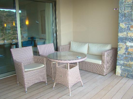 Daios Cove Luxury Resort & Villas: balcony