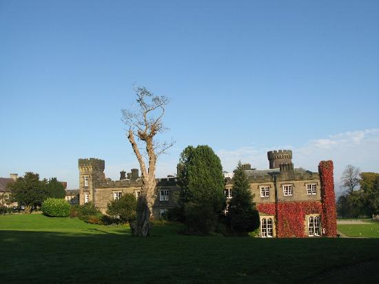 Swinton Park Country Club and Spa: View of rear of hotel