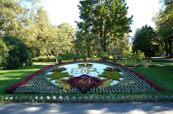 Garden Dedicated to Queen Victorias Diamond Jubilee Picture of