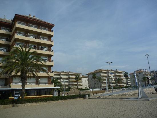 Hotel Kursaal: chambre face à la mer