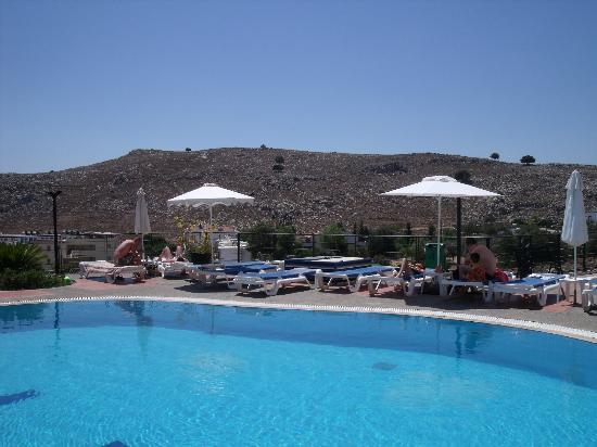 Lindos Horizon: Poolside view