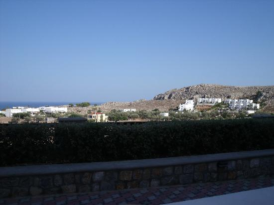 Lindos Horizon: View from room/terrace