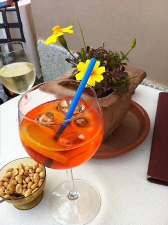 Hotel Cannero: delicious aperol spritz