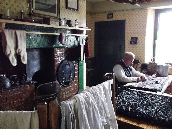 Rag Rug Making Foto De Beamish Museum