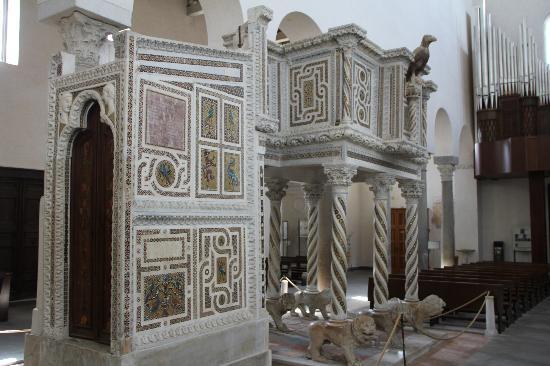 Duomo di Ravello: pulpito cattedrale di ravello