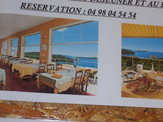 Hotel Le Provencal : SALLE A MANGER