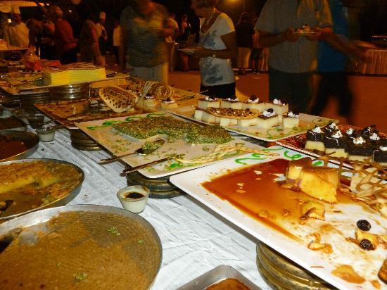 Side Star Resort: buffet de dessert, miam !!